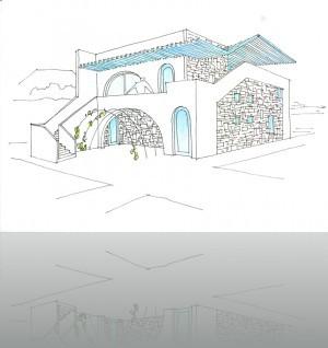 Вариант дачного дома. Крым