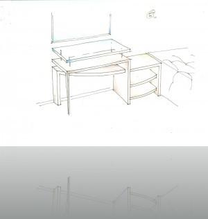 Поиск вариантов тумбы и столика