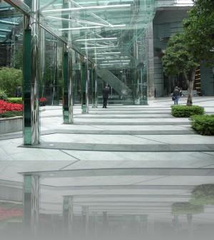 Зелень- просто неотъемлемая часть современной архитектуры в Гонконге