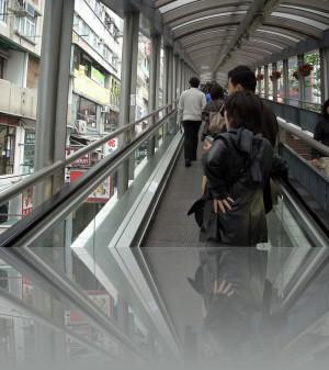Эскалатор как общественный транспорт