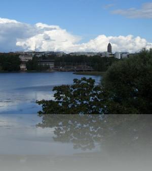 Облака и заливы