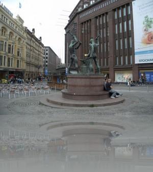Самая знаменитая троица Хельсинки