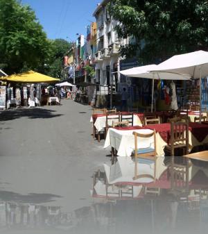 Ла Бока-район туристический аттракцион
