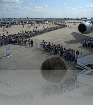 Желающие приобщиться к чуду европейского самолётостроения