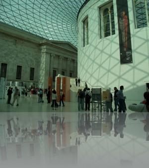 Внутренний двор Британского музея
