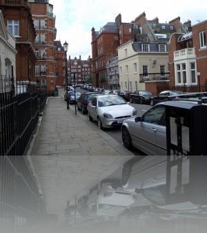 Красный кирпич-это типично для Лондона
