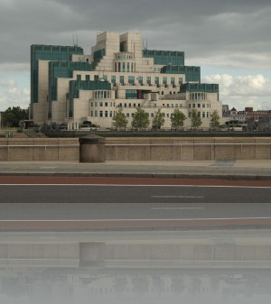 Штаб квартира британской разведки. В кино видели не раз