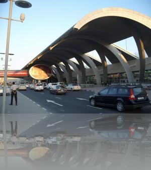 Аэропорт Дубая. Улетаем