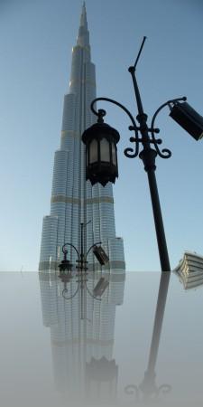 Знакомьтесь: Бурж Халифа- 828 метров, самый высокий небоскрёб в мире