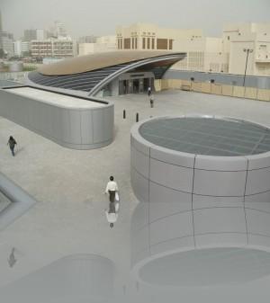 А так выглядит действующий вестибюль метро