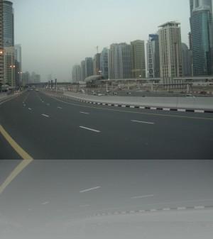 Шейх Заед Роуд в районе Дубай Марина