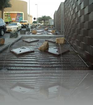 С малыми архитектурными формами в Дубае всё хорошо