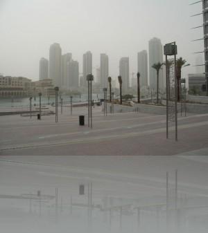 Песчаная буря. Дубай может быть и таким