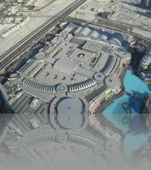 Дубай молл со 124-го этажа. Крыша-пятый фасад