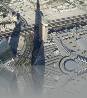 Тень от Бурж Халифы со 124-го этажа за 110 долларов
