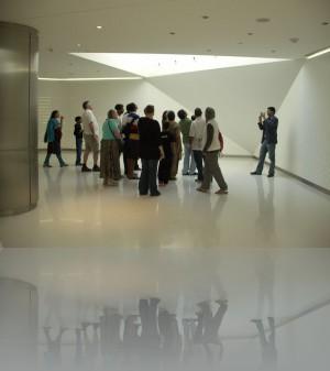 Отсюда начинается подъём на 124й этаж Бурж Халифы