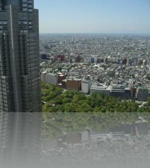 Токио с верхних этажей мэрии