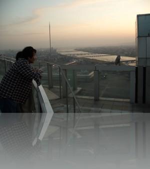Японцы обожают смотровые площадки небоскрёбов