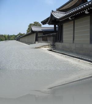 Киото. Ограда императорского дворца