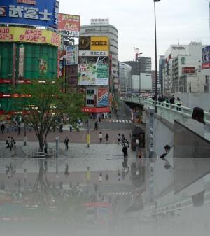 Универмаги в Японии тоже яркие