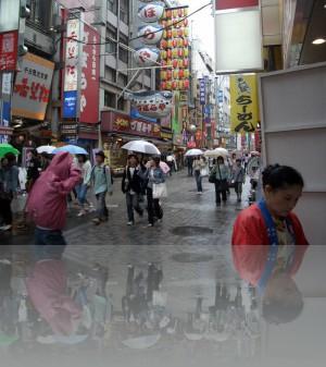 Торговые улицы как во всей Азии