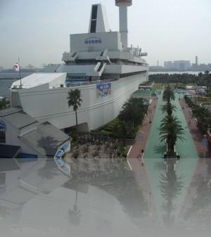 Корабль из бетона-морской музей