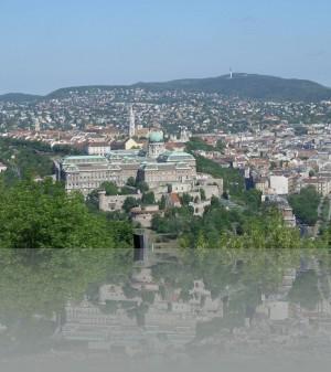 Крепостная гора (мы над ней, на ней Королевский дворец)