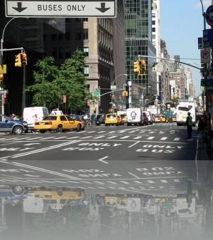 Где-то в средней части Манхеттена