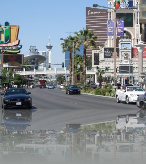 Лас Вегас бульвар. Телебашня