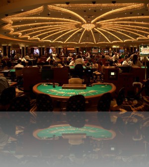 В казино масса свободных мест