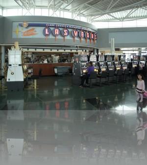 Игровые везде. В аэропорту. Вдруг у вас что-то осталось.