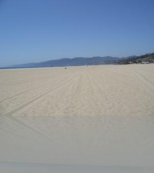 Санта Моника пляж. Ну как вам, нравится?
