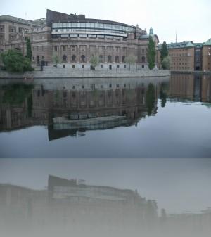 Парламент в водном окружении