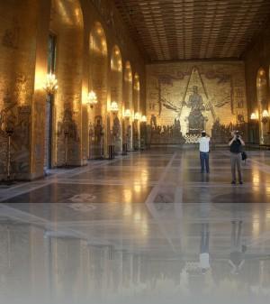 Золотой зал- 18 млн.кусочков керамики, стекла и золота