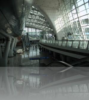 Сеульский аэропорт Инчхон....