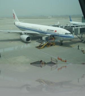 Птичка в Пекин. Оттуда в Москву. Экономия существенная. Всегда!