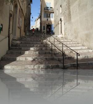 Улица - лестница