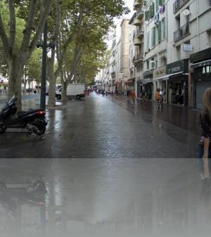 Дождь в Марселе