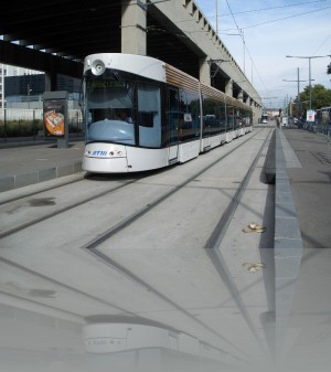 Марсельский трамвай